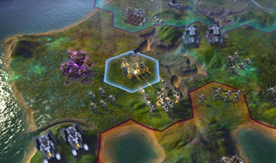 Скриншот Sid Meier's Civilization Beyond Earth (2014) REPACK ОТ R.G. МЕХАНИКИ скачать торрент бесплатно