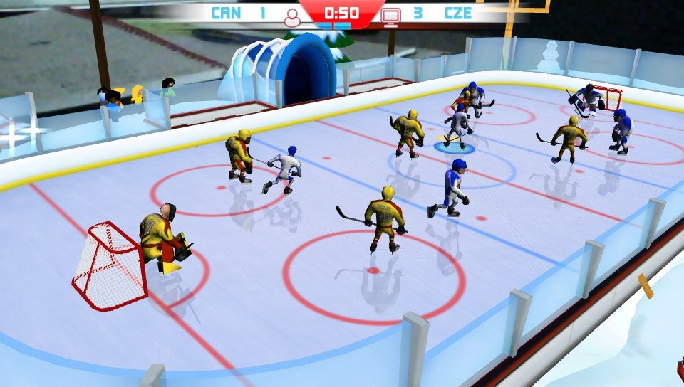my first hockey game On march 3, 1875, the first recorded indoor ice hockey game took place at the victoria skating rink in montreal, quebec, canada organized by james creighton, who captained one of the teams, the game was between two nine-member teams, using a wooden 'puck.