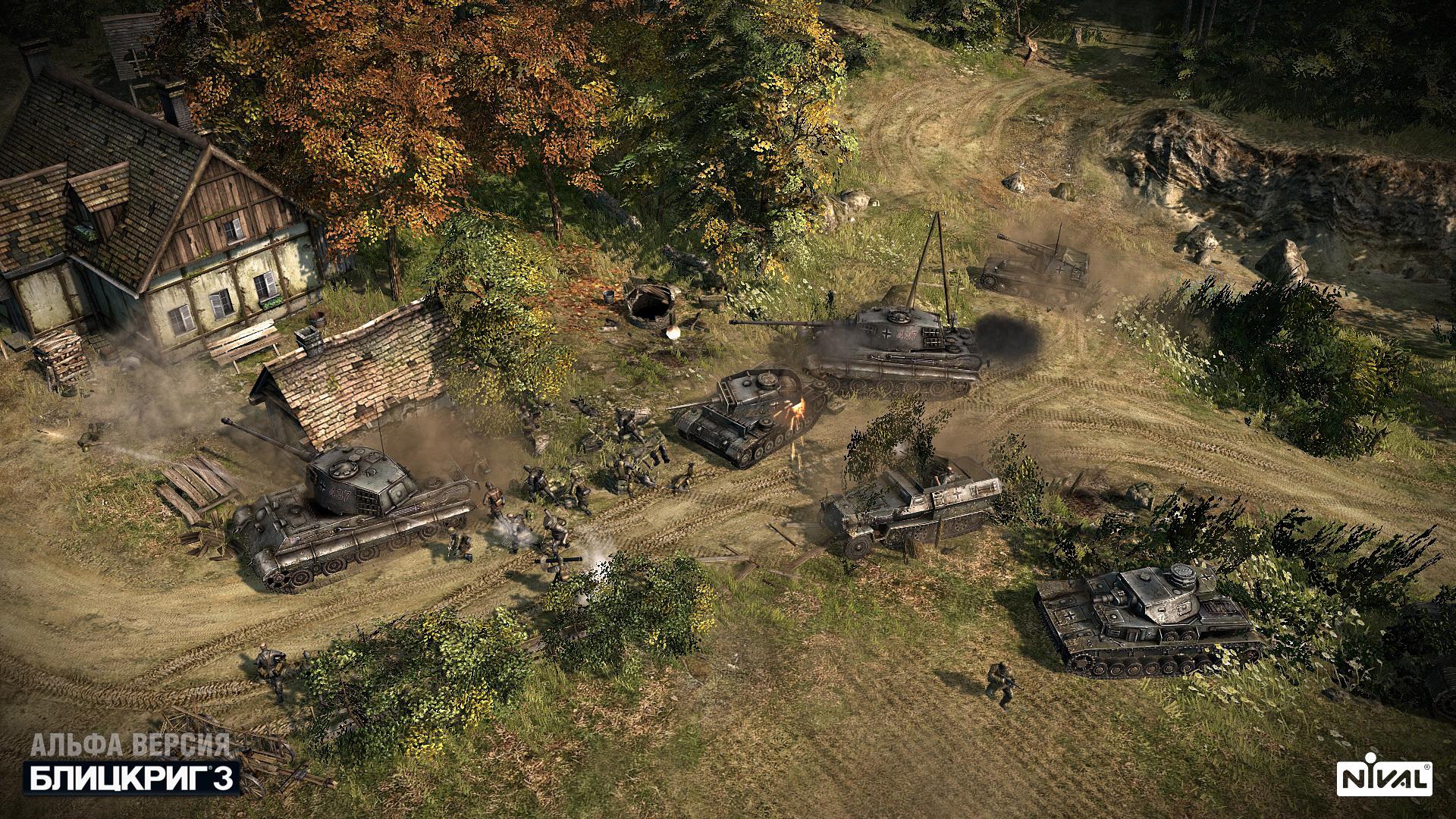 Скачать игру blitzkrieg 3.