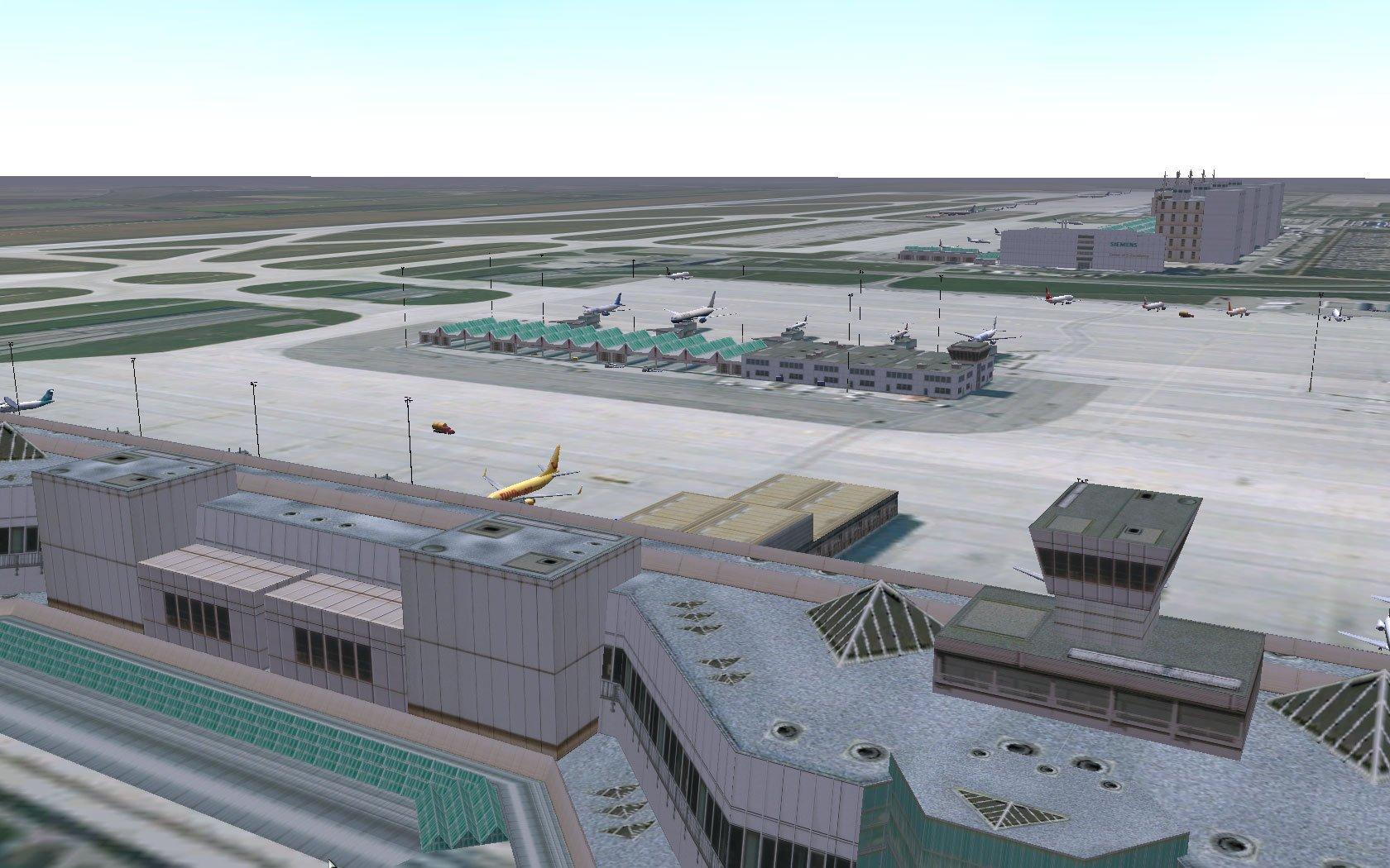 seaport airport traffic simulator - HD1280×800