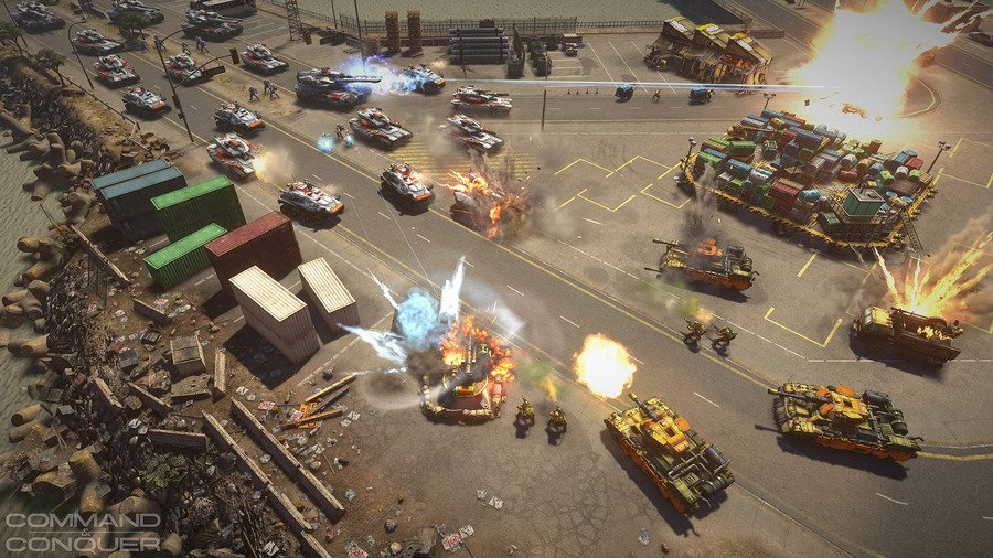 скачать игру Command Conquer - фото 3