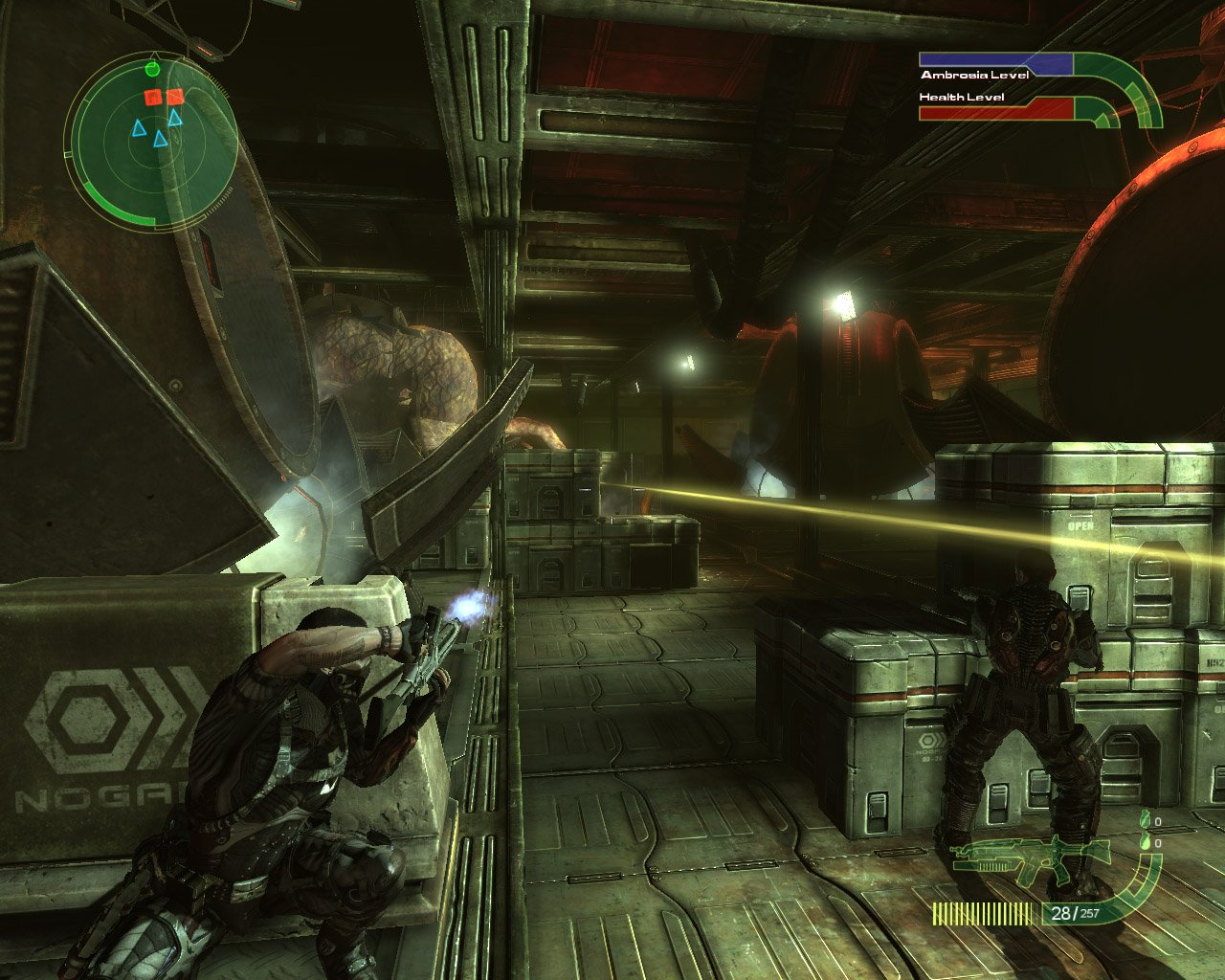 third person shooter video game - HD1280×1024