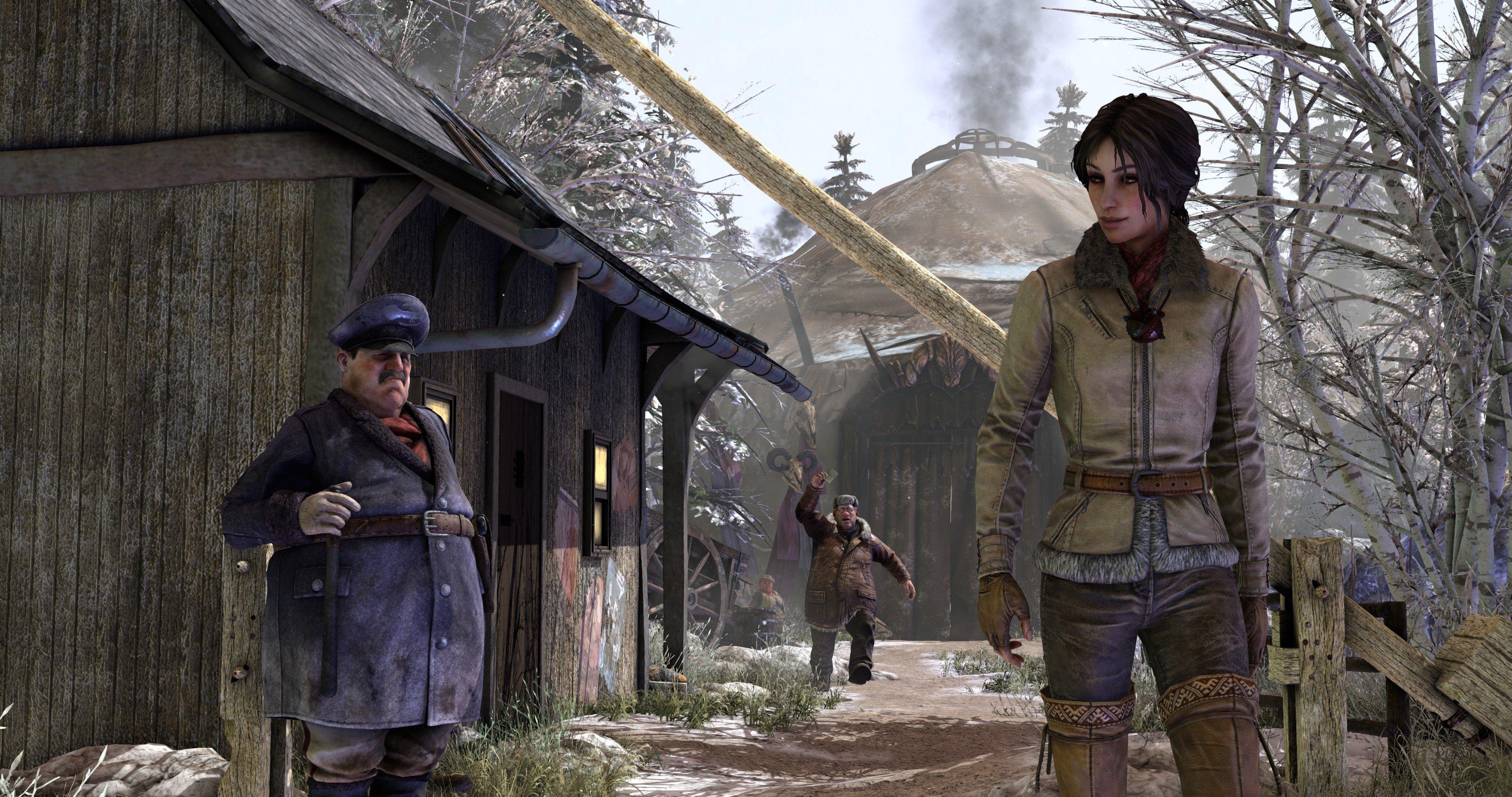 Скриншот Сибирь 3 / Syberia 3: Deluxe Edition (2017) REPACK ОТ R.G. МЕХАНИКИ скачать торрент бесплатно