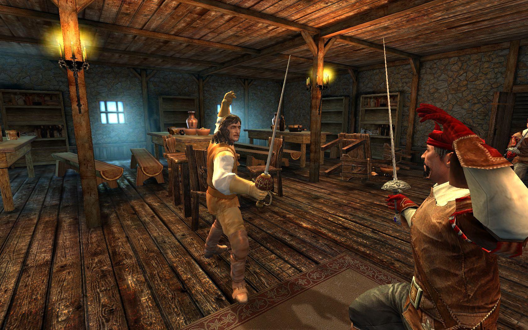 Скачать игру возвращение мушкетеров на компьютер