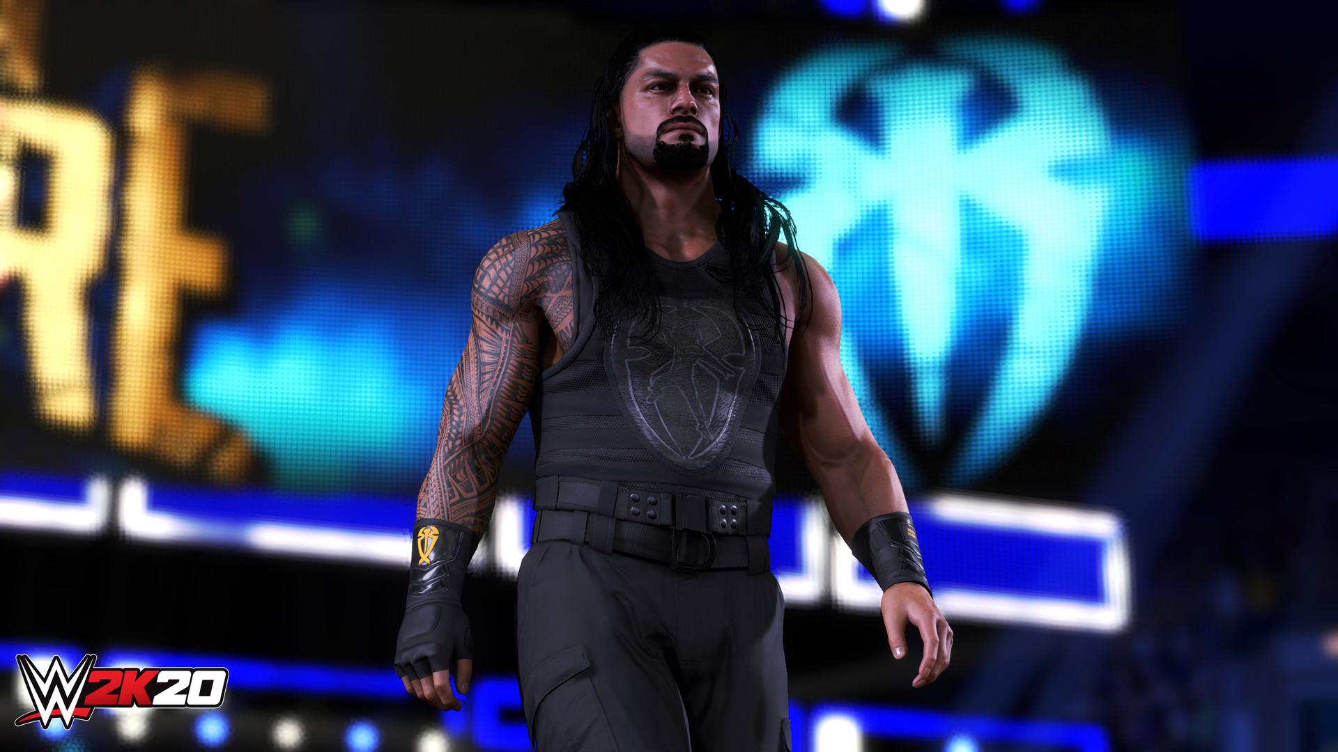 hur du slår på bakgrunden matchmaking i WWE 2k15