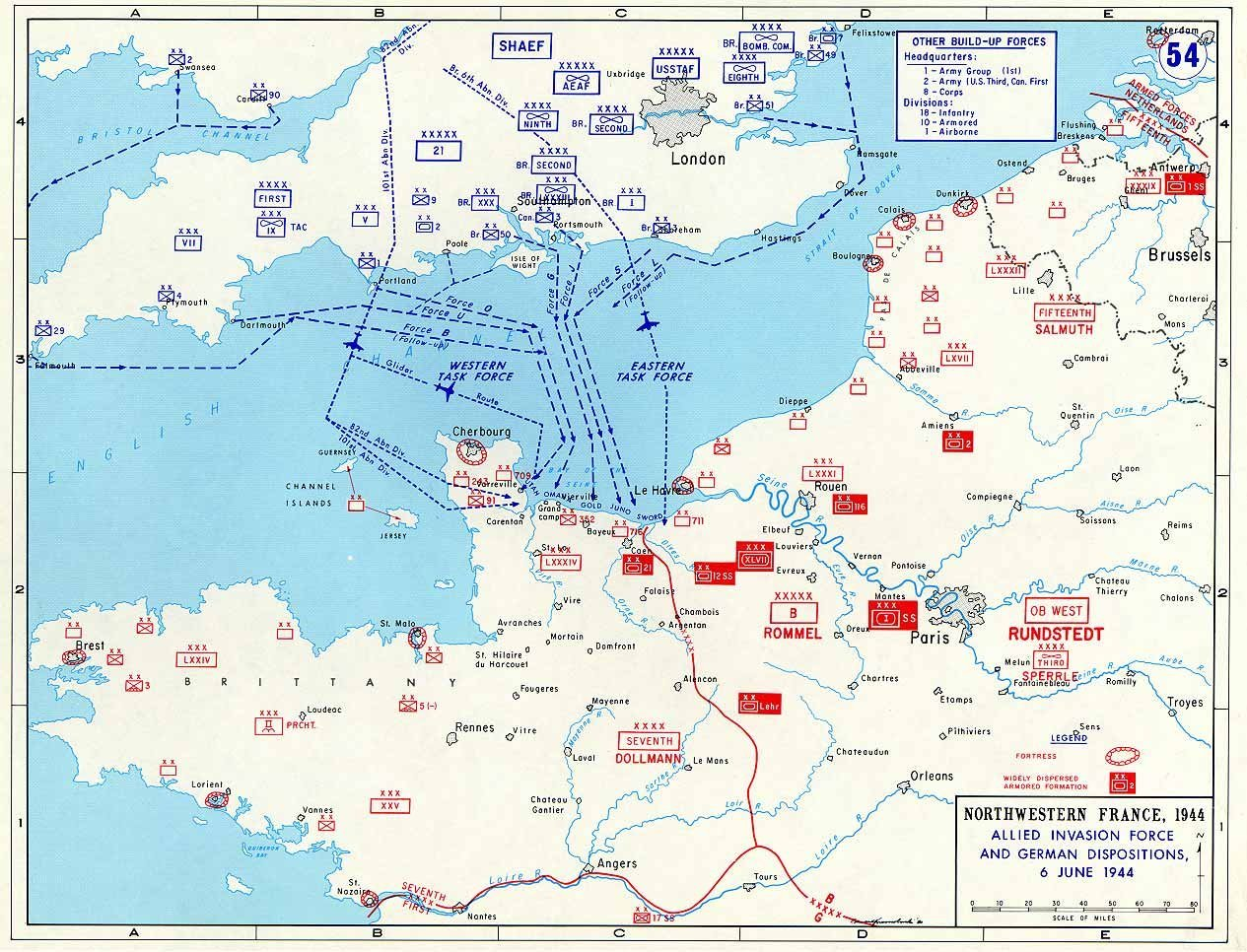 an overview of the allied invasion of france on june 6 1944