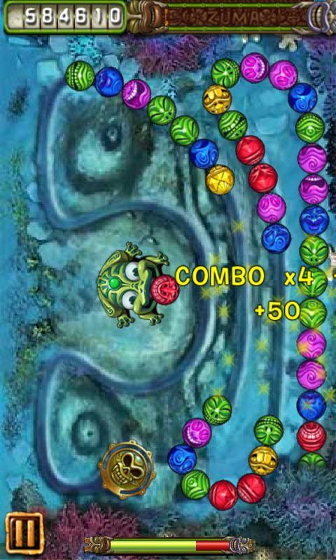 Zuma - java game for mobile Zuma free download