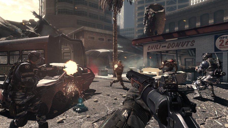 Скриншот Call of Duty: Ghosts - Ghosts Deluxe Edition (2013) PC | RePack от xatab скачать торрент бесплатно
