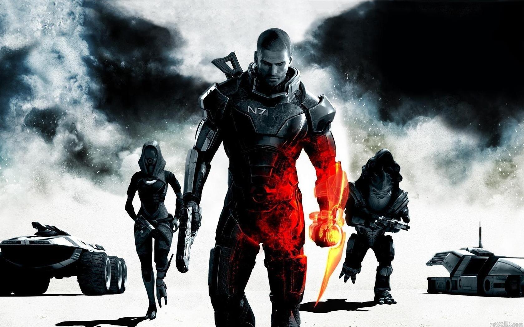 Кем вы были в Mass Effect?  Во второй и третьей частях  Mass Effect-а можно выбрать специализацию Шепарда. Наверное, .... - Изображение 1