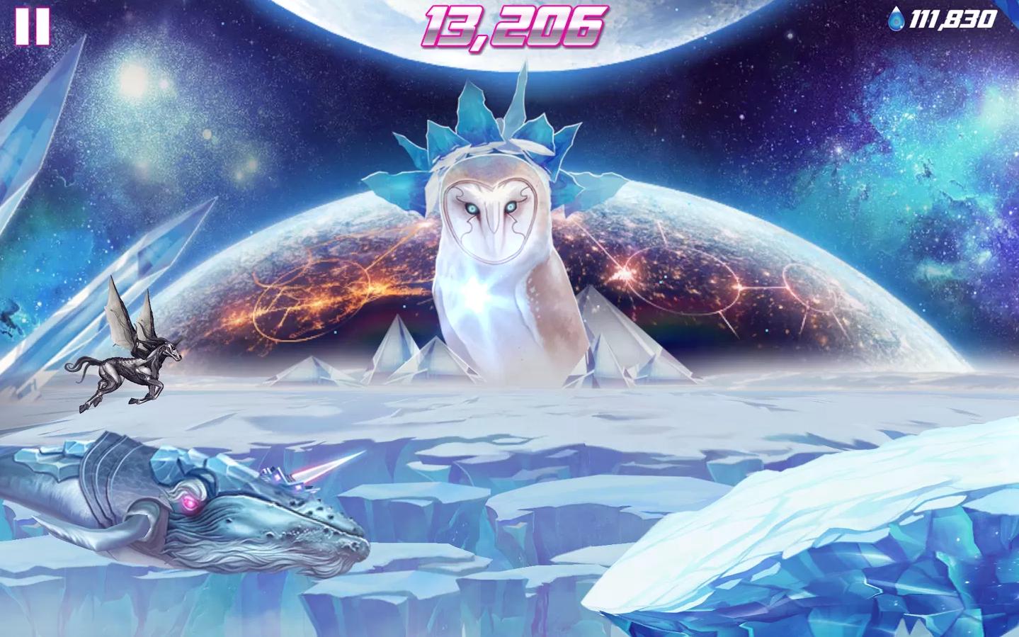 Внезапно! Robot unicorn Attack 2 восхитителен! Посмотрите на графику— Бредбериевские пейзажи, над которыми летит гиг .... - Изображение 1