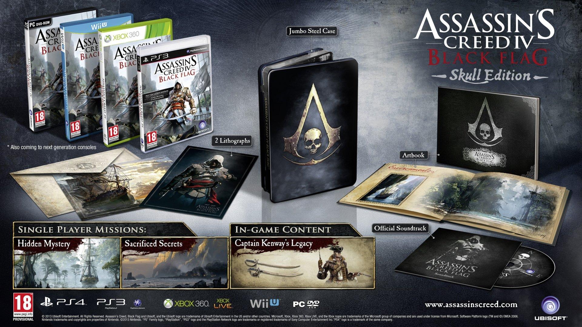 youtube.com/watch?feature=player_embedded&v=2dtf-ezfytMAssassin's Creed 4: Black Flag - коллекционные издания и  .... - Изображение 3