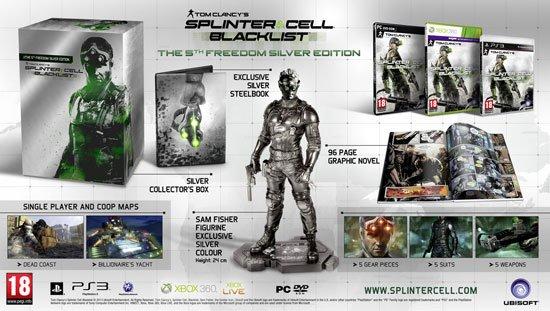 Европейские коллекционные издания Splinter Cell Blacklist  Компания Ubisoft анонсировала коллекционные издания Tom C .... - Изображение 1