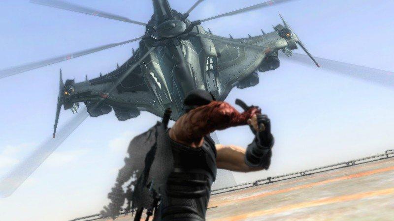 Не думал что в играх еще бывают боссы вертолеты =D. - Изображение 1