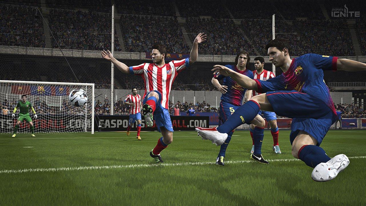 По первым десяти часам #FIFA14 кажется очень странной. Игроков сделали медленнее и неповоротливее, теперь гораздо сл .... - Изображение 1