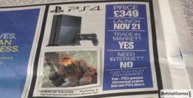 В новом номере The Sun была обнаружена реклама PlayStation 4, утверждающая, что консоль поступит в европейскую розни .... - Изображение 1