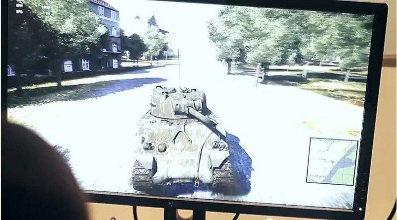 #Tanks#Wat_Thunder#NVIDIAТанки в War Thunder, презентация в офисе NVIDIA.. - Изображение 1