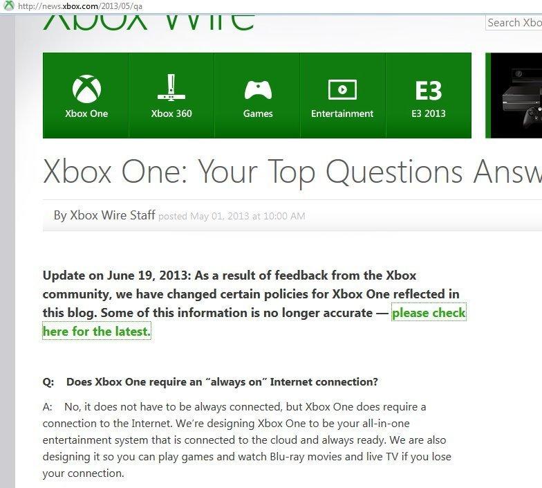 Microsoft что ты делаешь, прекрати, я не могу больше!! :)  Microsoft сообщают, что послушали отзывы игроков и измени .... - Изображение 1