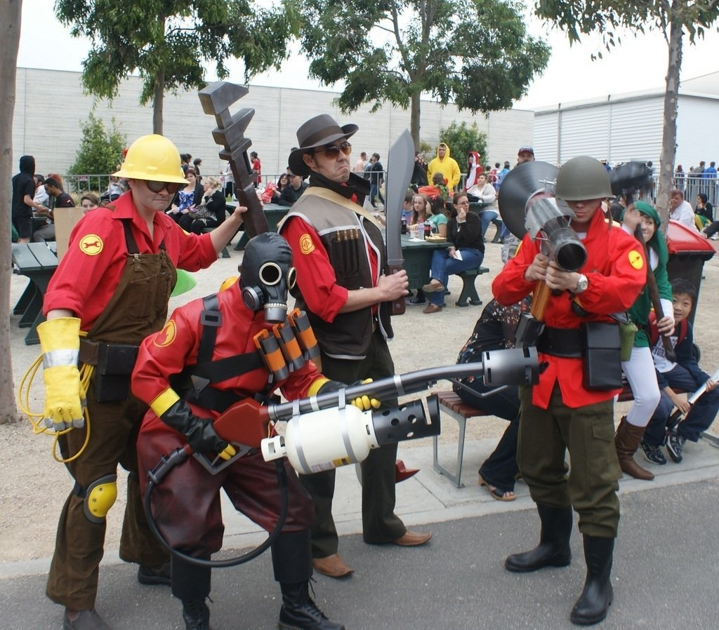 Team Fortress 2 (by fly high photography 101) #teamfortress2. - Изображение 1