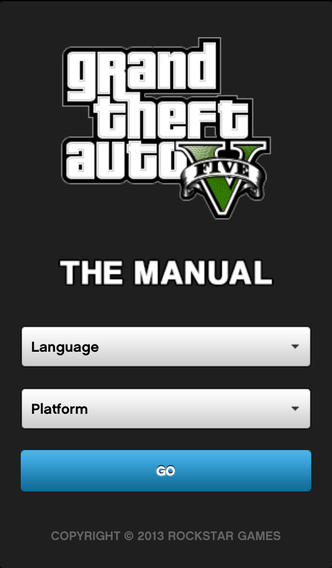 """Рокстары выпустили второе приложение-компаньон для #gta5. И на этот раз это мануал по игре. Цитирую: """"Мобильное прил .... - Изображение 1"""