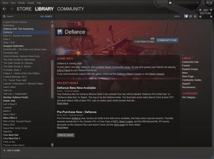 Исправлять Defiance Steam предварительный заказ - CD ключ отсутствует  Многие другие пережил эту проблему, без Steam .... - Изображение 1