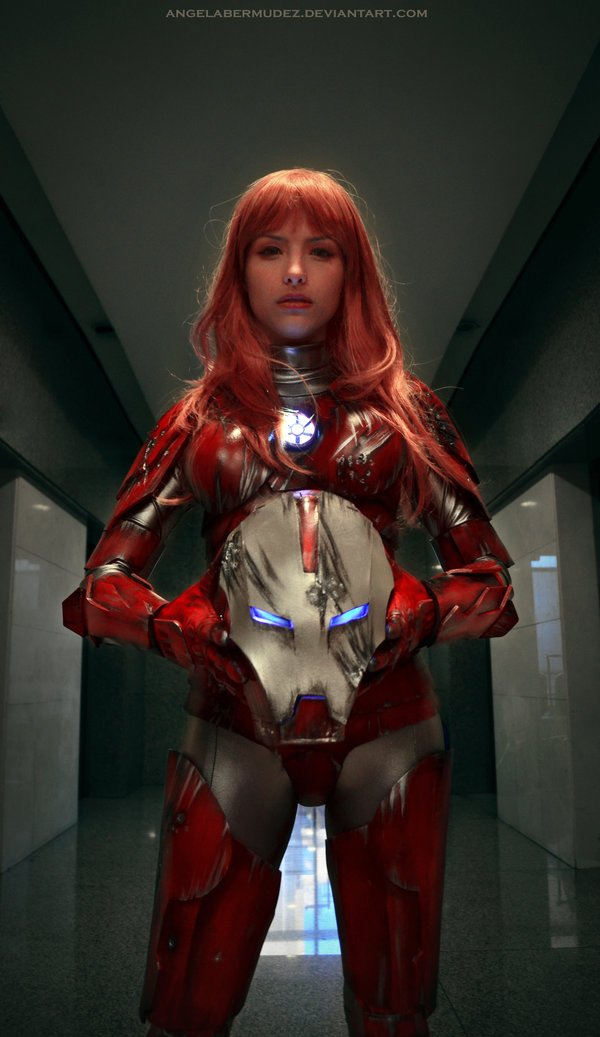 Iron Woman #cosplay. - Изображение 3