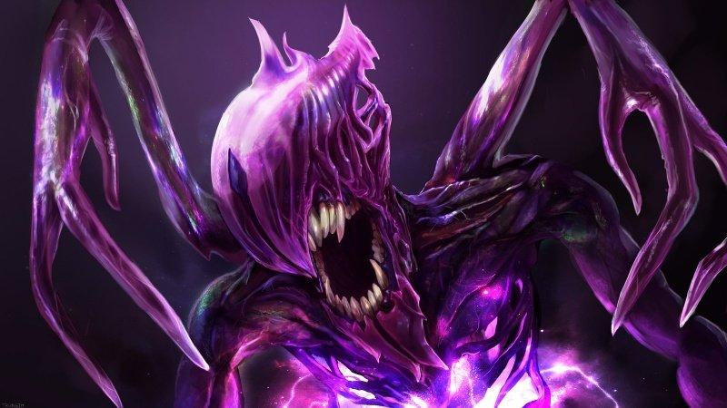 Талантливый рисунок от руки: TrungTH нарисовал Bane Elemental из DOTA2Источник:dota2/gameguyz. - Изображение 1