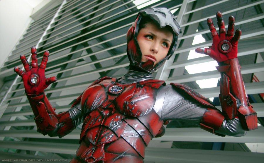 Iron Woman #cosplay. - Изображение 1