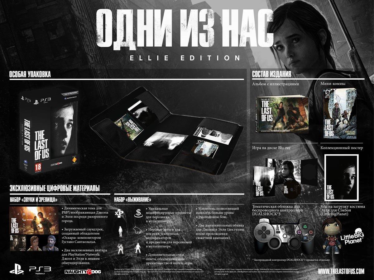 Ребята открылся предзаказ на Last Of Us Цена Коллекционного издания всего 2700 и их на выбор 2 =). - Изображение 1