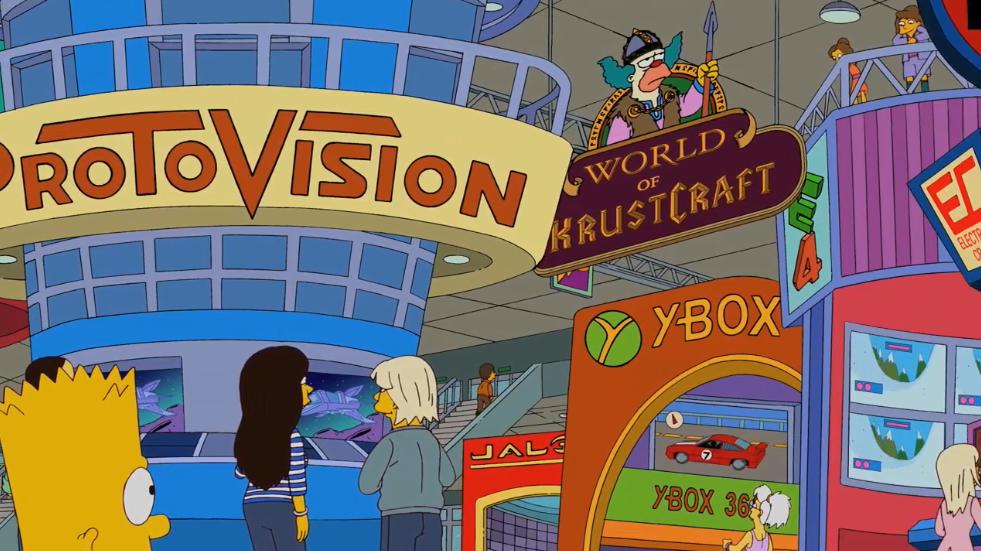 Смотрел тут Симпсонов от нечего делать. Вот E4. С Ybox они точно попали.. - Изображение 1