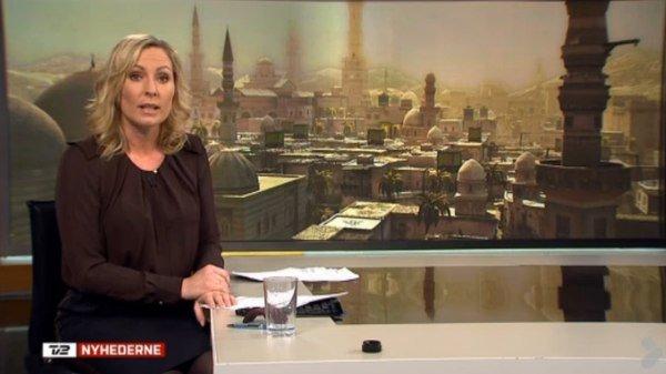 В репортаже о Сирии на ТВ показали скриншот из Assassin's Creed.  Датский телеканал оказался в неловком положении пе .... - Изображение 1
