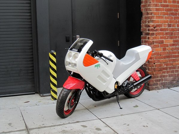 Что то резко захотелось мотоцикл =) Жаль этот есть только в музее, модель Yamaha Frog FZ750.. - Изображение 2