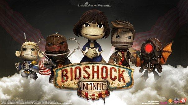 Скины для LittleBigPlanet 2 в стиле Bioshock Infinite. - Изображение 1