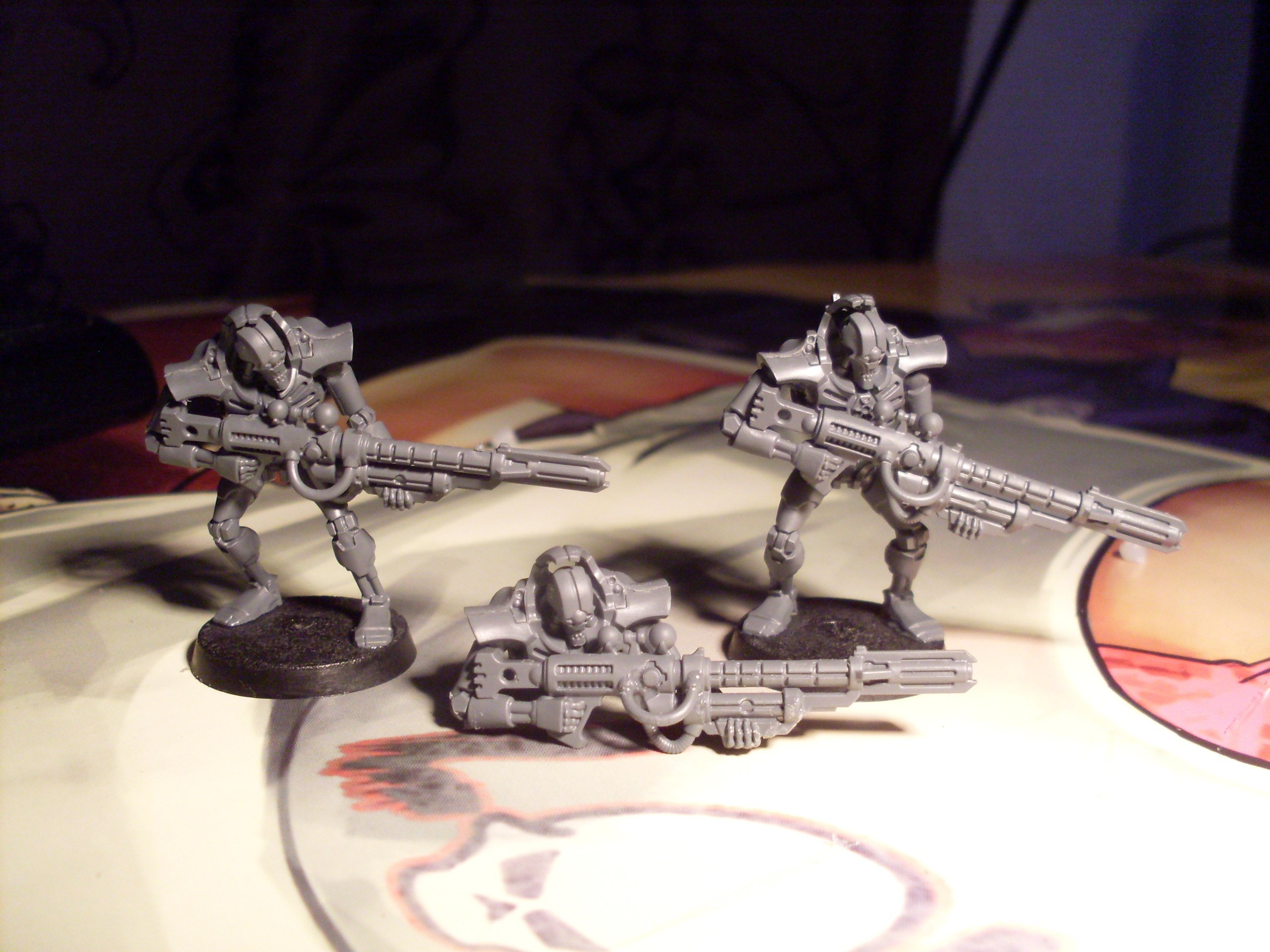 Вдохновленный Шоном и Spaceman'ом, начал собирать свою армию.#Warhammer40k. - Изображение 1