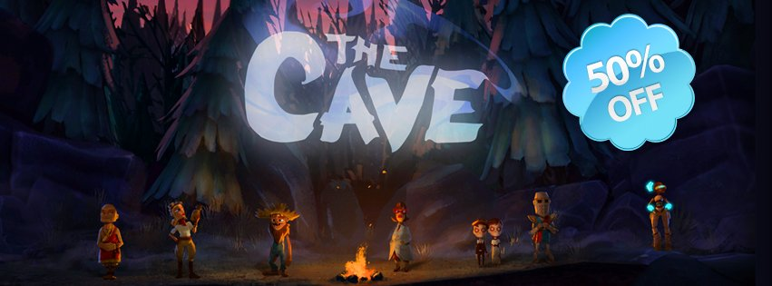 Скидка 50% на игру The Cave до 10.00 11 Марта!The Cave – новая приключенческая игра от автора Monkey Island и Maniac .... - Изображение 1