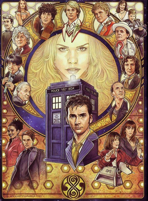 крутейший арт для фанатов доктора #doctorwho #докторкто. - Изображение 1