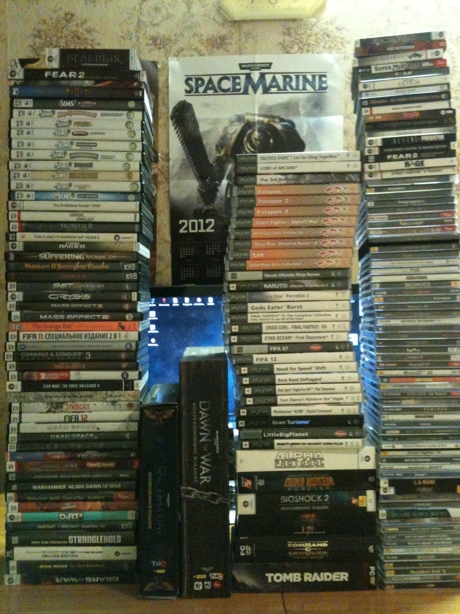 Посмотрел тут фото товарища с пиратскими дисками. А у меня вот только лиценз. 120 штук, не считая задвойки, диски дл .... - Изображение 1