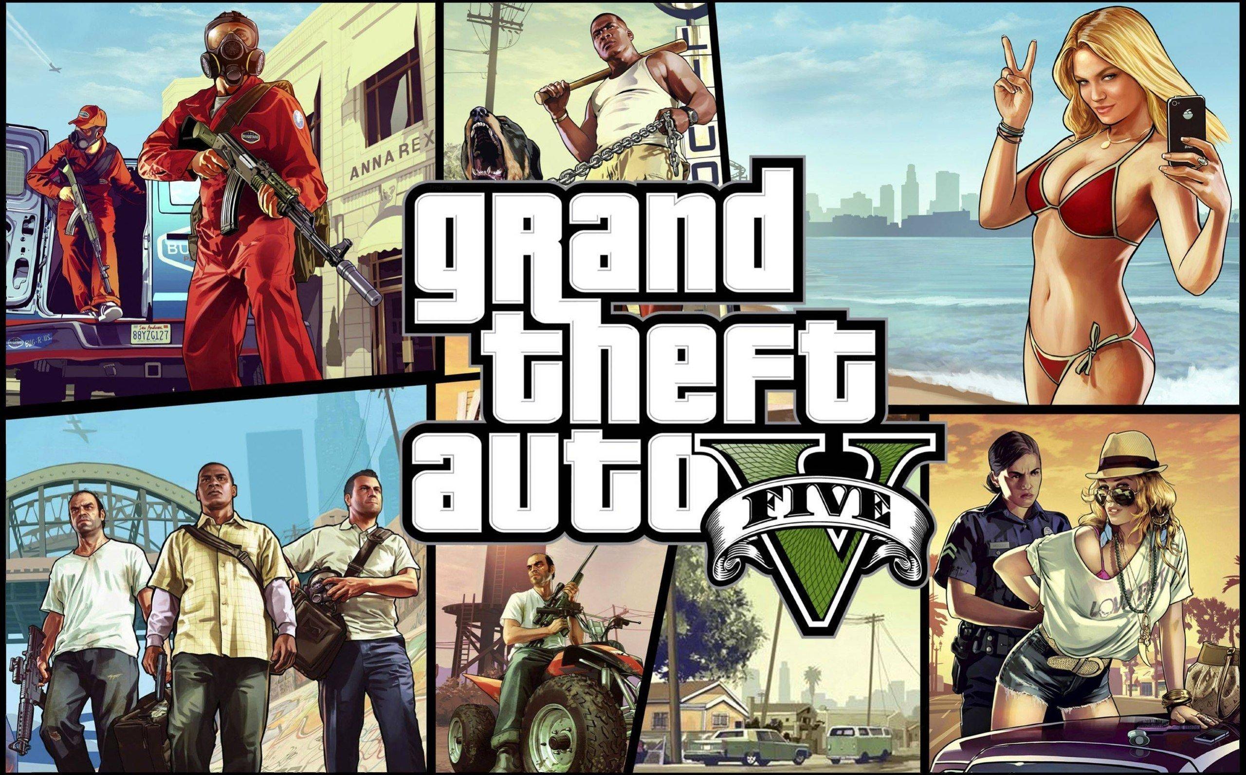 Grand Theft Auto V продолжает бить рекорды - за первую неделю продаж было реализовано более 16 миллионов копий игры  .... - Изображение 1